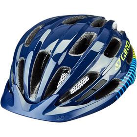 Giro Vasona Fietshelm Dames, midnght blue/heatwave